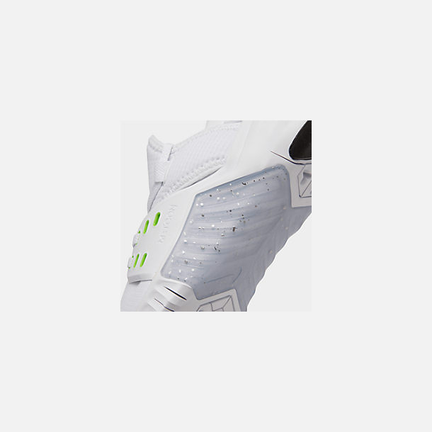 Front view of Women's Nike Free Metcon 2 Training Shoes in White/Electric Green/Black