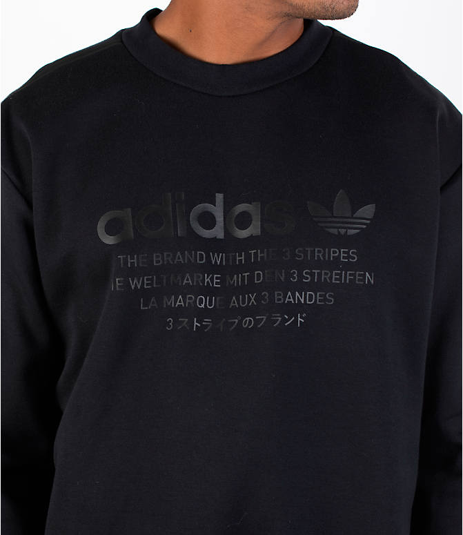 77963af50 Detail 1 view of Men s adidas NMD Crewneck Sweatshirt