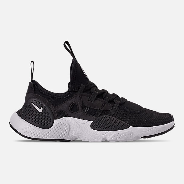 Right view of Boys' Big Kids' Nike Huarache E.D.G.E. TXT Casual Shoes in Black/Black/White
