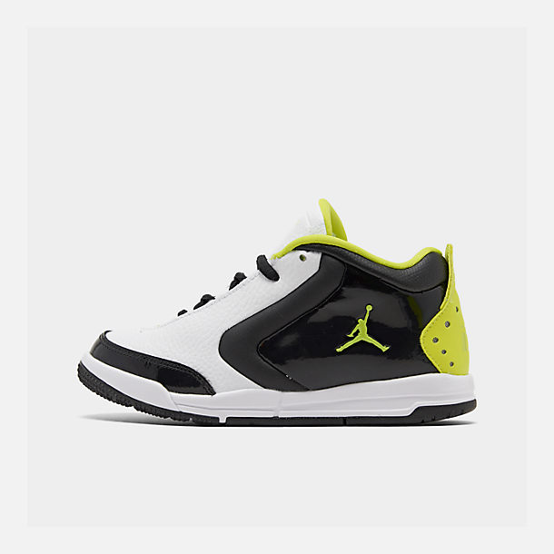 ed5ea07fa588 Right view of Boys  Little Kids  Air Jordan Big Fund SE Basketball Shoes in