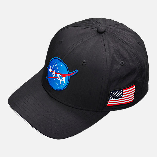 low priced 6141b 6a7cc ... discount front view of nike pg 3 x nasa classic 99 fitted hat in black  white