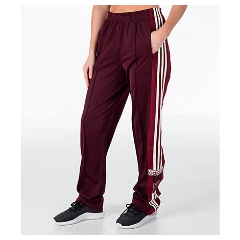 uk availability cd2dd b8ec5 Adidas Originals Women S Originals Adibreak Popper Track Pants, Purple
