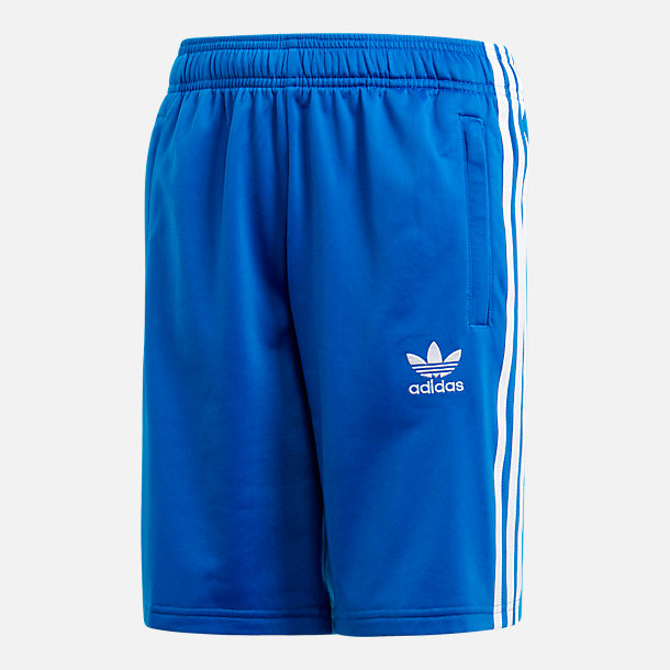 Front view of Boys' adidas Originals 3-Stripes Shorts