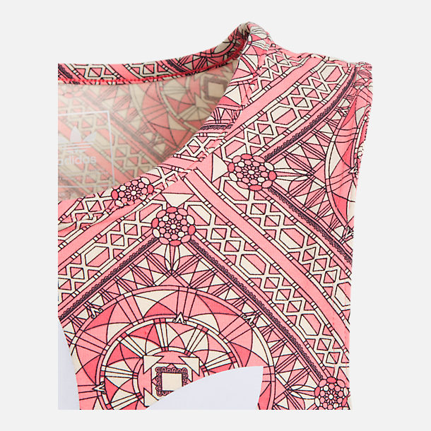 Alternate view of Girls' adidas Originals Graphic Tank in Pink/Multi