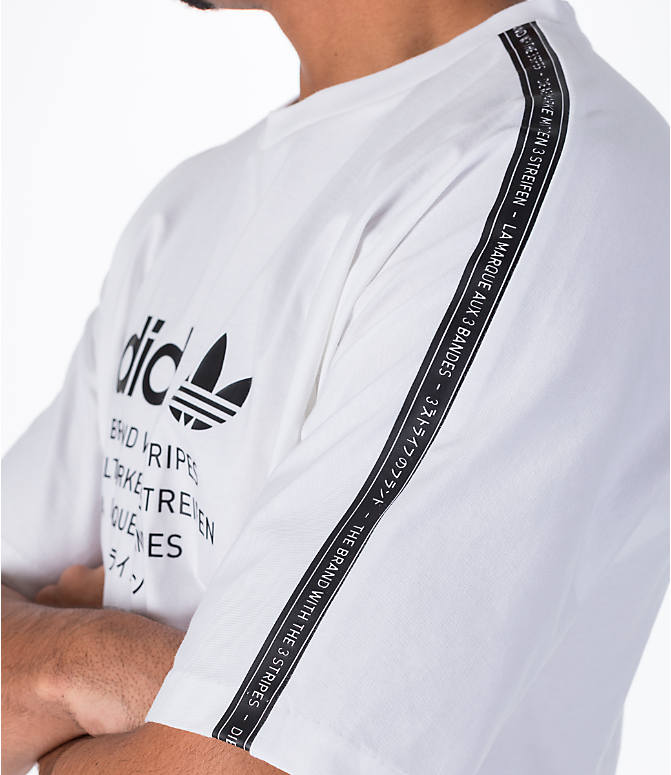 Detail 1 view of Men's adidas Originals NMD T-Shirt in White/Black