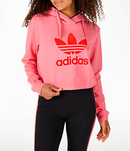 Women's adidas Originals CLRDO Cropped Hoodie