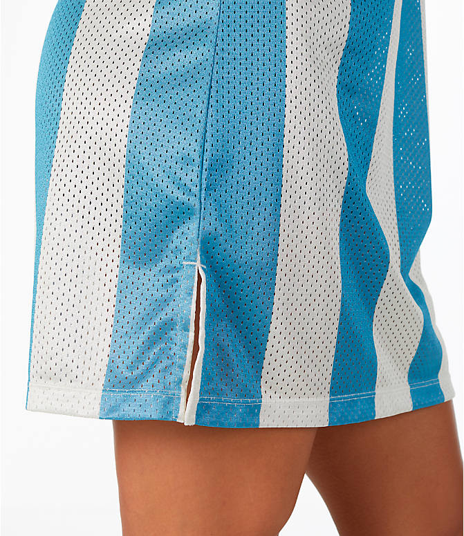 Detail 2 view of Women's adidas Originals Argentina Tank Dress in Blue/White/Multi