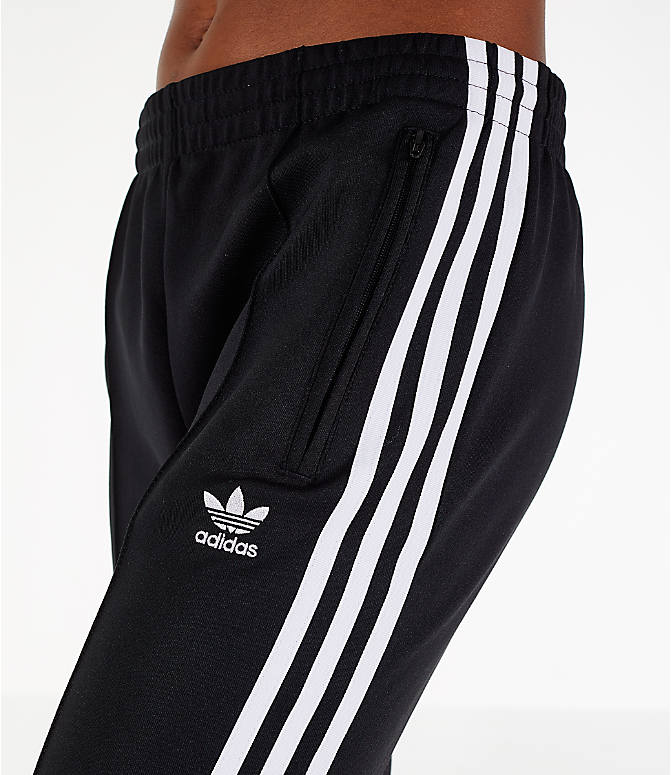 Detail 1 view of Women's adidas Originals Superstar Track Pants in Black