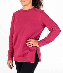 Women's adidas ID Long-Sleeve Cover-Up Sweatshirt