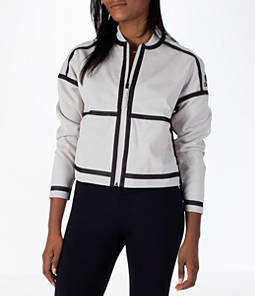 Women's adidas Athletics ZNE Reversible Bomber Jacket