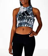 Women's adidas Tie-Dye Crop Tank