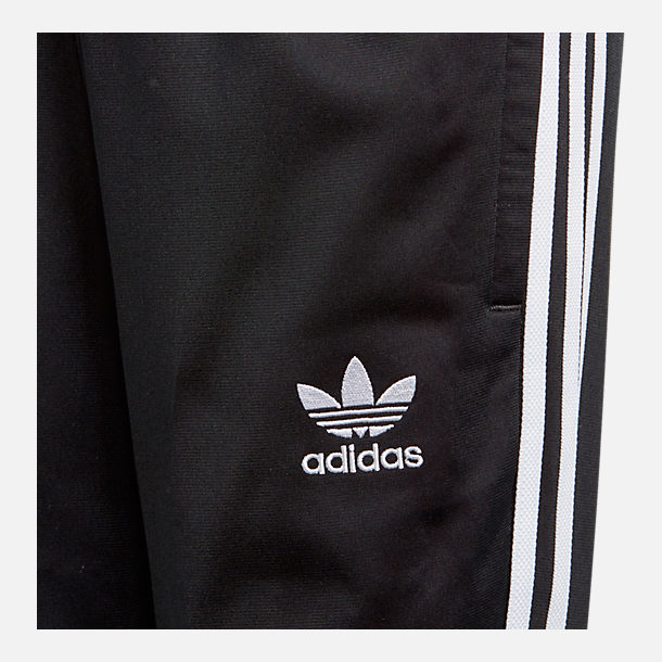 Back view of Kids' adidas Originals Track Pants in Black
