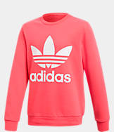 Girls' adidas Originals Trefoil Crew Sweatshirt