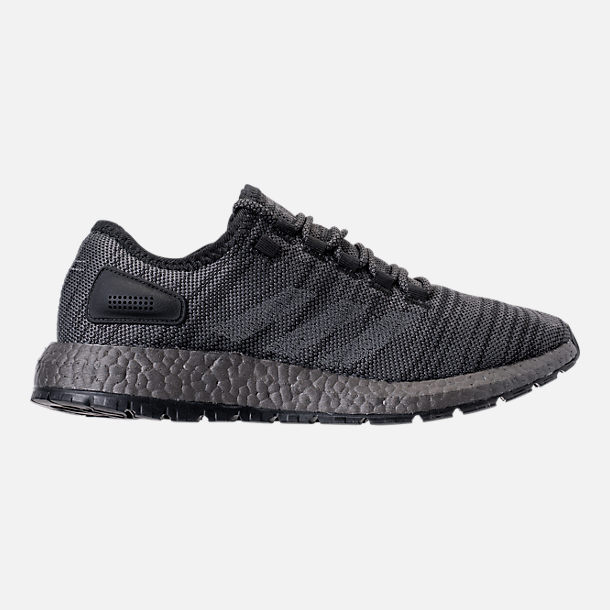 Right view of Men's adidas PureBOOST x ATR Running Shoes in Black/Silver