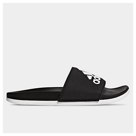 Adidas Originals Adidas Women's Adilette Comfort Slide Sandals In Black