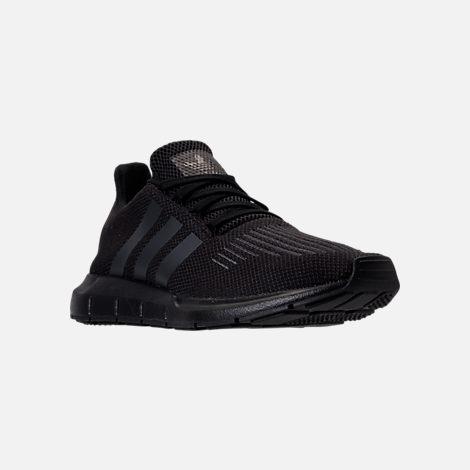 on sale ad00b b216a Three Quarter view of Men s adidas Swift Run Running Shoes in Core  Black Utility Black
