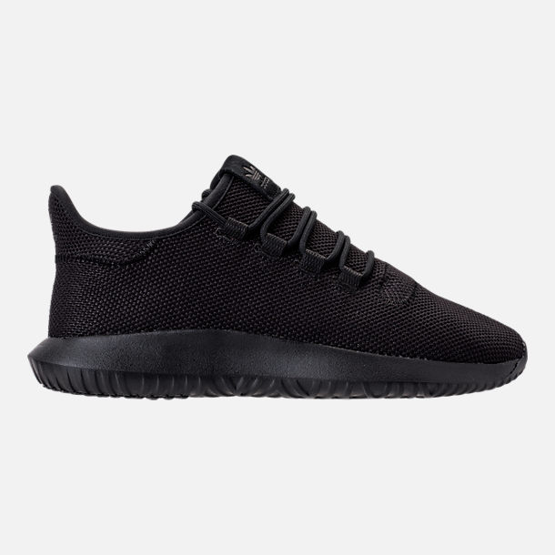 Right view of Men's adidas Tubular Shadow Casual Shoes in Core Black/Footwear White