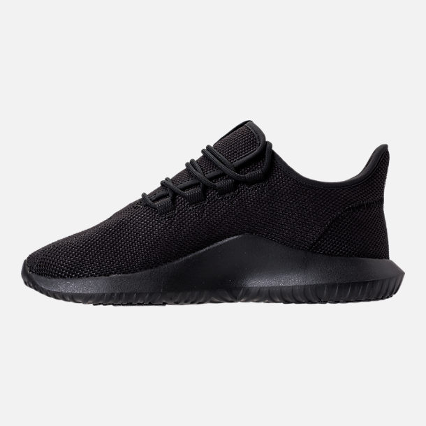 Left view of Men's adidas Tubular Shadow Casual Shoes in Core Black/Footwear White