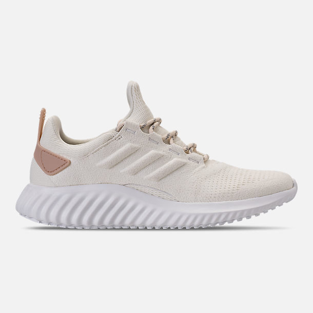 Right view of Women's adidas AlphaBounce City Running Shoes in Off White/Ash Pearl