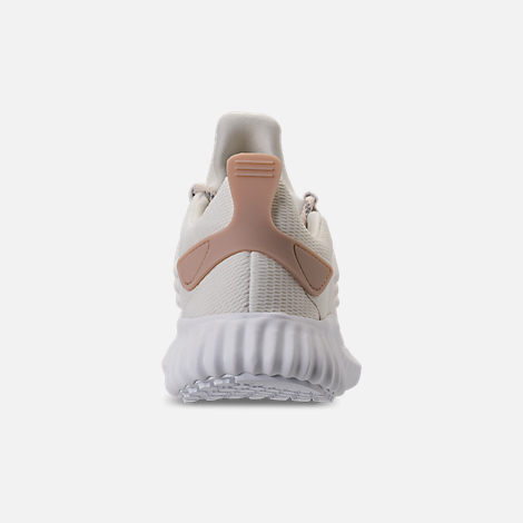 Back view of Women's adidas AlphaBounce City Running Shoes in Off White/Ash Pearl