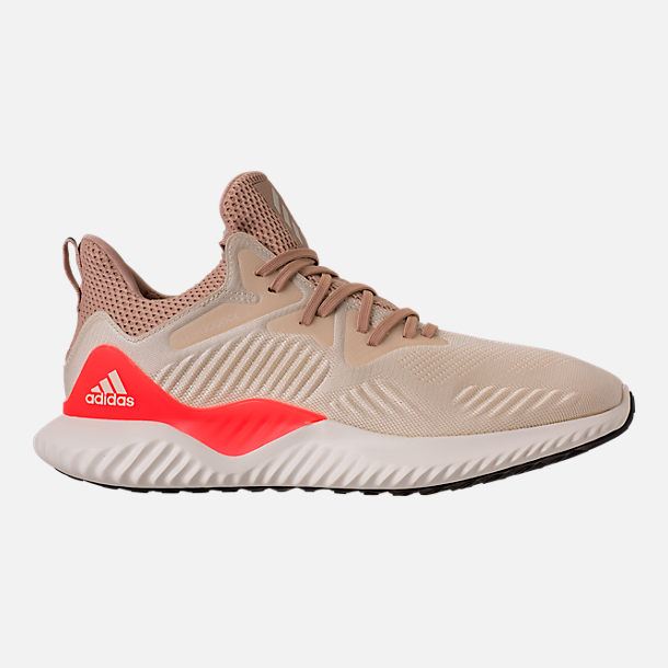 Right view of Men's adidas AlphaBounce Beyond Running Shoes in Linen/Crystal White/Ashpea