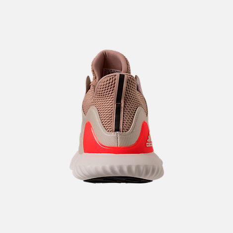 Back view of Men's adidas AlphaBounce Beyond Running Shoes in Linen/Crystal White/Ashpea