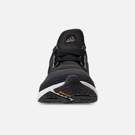 Front view of Women's adidas Edge Lux Clima Running Shoes in Black/White