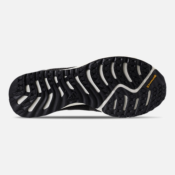 Bottom view of Women's adidas Edge Lux Clima Running Shoes in Black/White