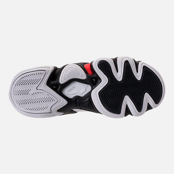 CRAZY 8 PRIMEKNIT ADV - Sneaker high - footwear white/core black/hi-res red QyA78KT6n1