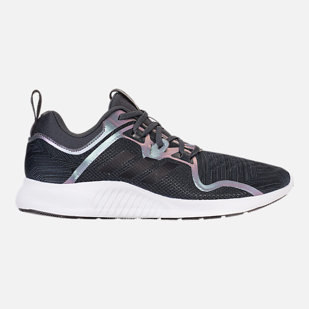 Right view of Women's adidas Edge Bounce Running Shoes in Carbon/Core Black/Night Metallic