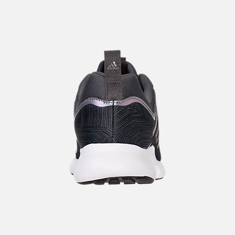 Back view of Women's adidas Edge Bounce Running Shoes in Carbon/Core Black/Night Metallic
