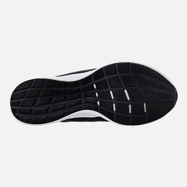 Bottom view of Women's adidas Edge Bounce Running Shoes in Carbon/Core Black/Night Metallic