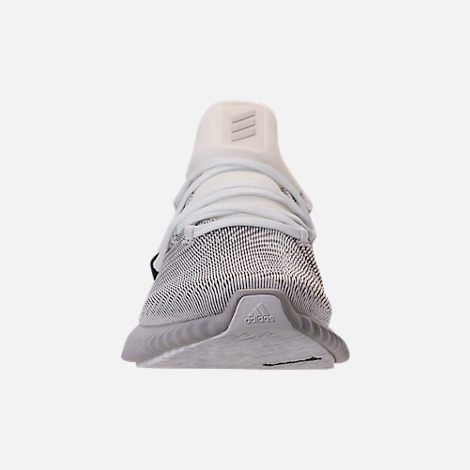 Front view of Women's adidas AlphaBounce Instinct Running Shoes in Footwear White/Grey Two/Core Black