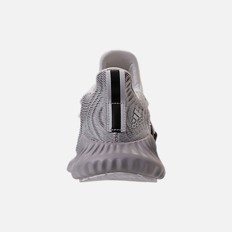 Back view of Women's adidas AlphaBounce Instinct Running Shoes in Footwear White/Grey Two/Core Black
