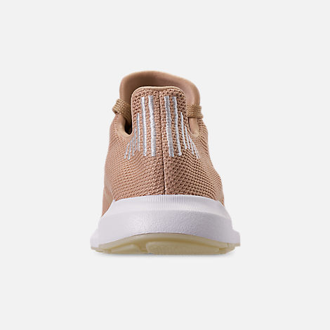 Back view of Women's adidas Swift Run Casual Shoes in Ash Pearl/Off White/Footwear White