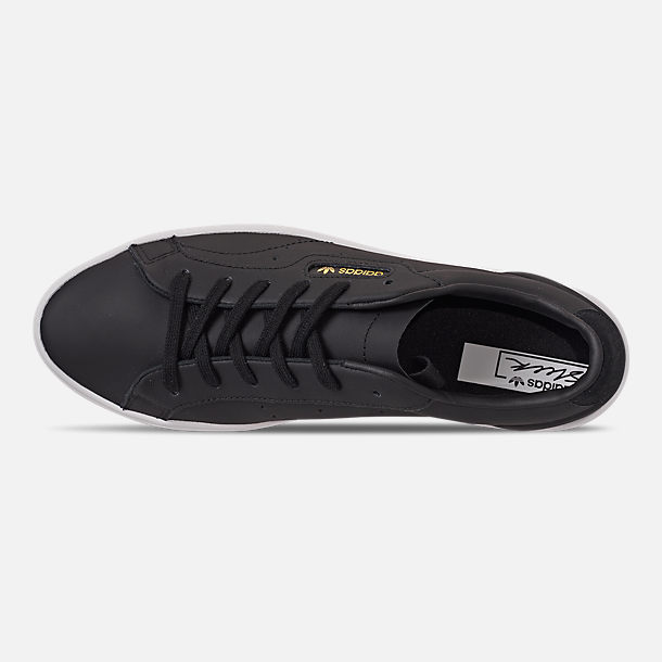 Top view of Women's adidas Originals Sleek Casual Shoes in Black