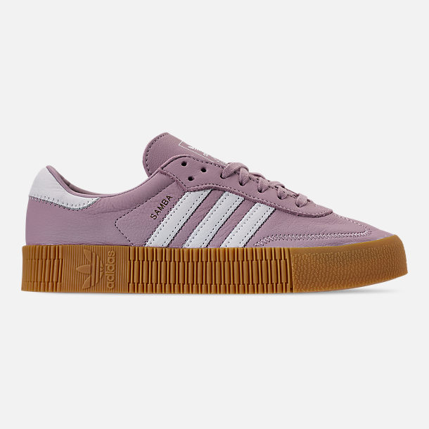 fb8676e04d3 Right view of Women s adidas Originals Samba Rose Casual Shoes in Soft  Vision White
