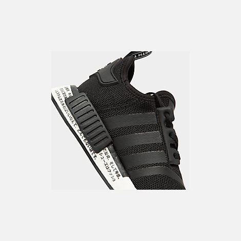 3c6151fcc7f32 Front view of Boys  Big Kids  adidas NMD R1 Casual Shoes in Core Black