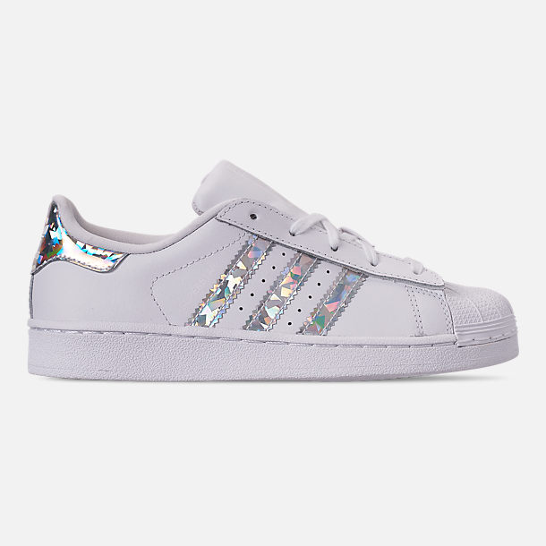 7ac29534e ... Finish Line  new style 1761c bea36 Right view of Girls Little Kids  adidas Superstar Casual Shoes in Footwear