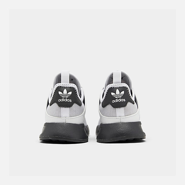 Left view of Boys' Big Kids' adidas Originals X_PLR Casual Shoes in Light Grey Heather/Core Black/Footwear