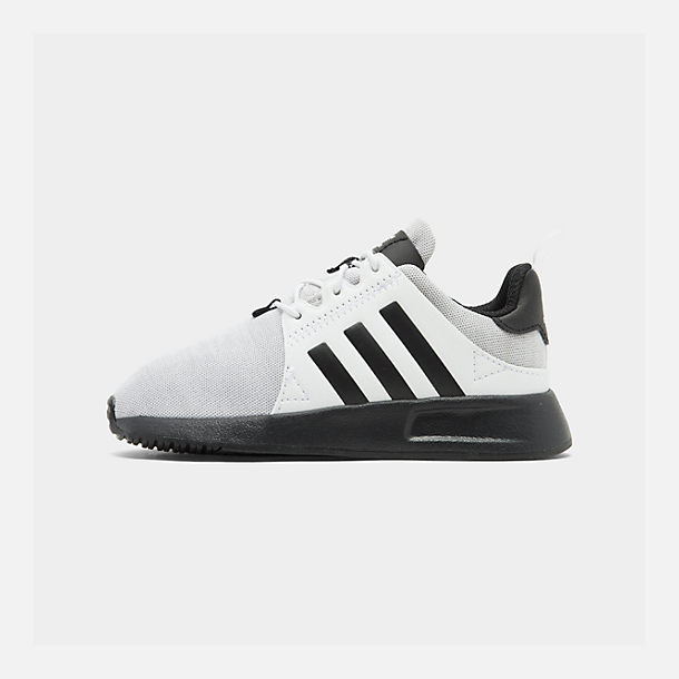 49722143a1b17 Right view of Boys  Toddler adidas Originals X PLR Casual Shoes in Footwear  White Grey