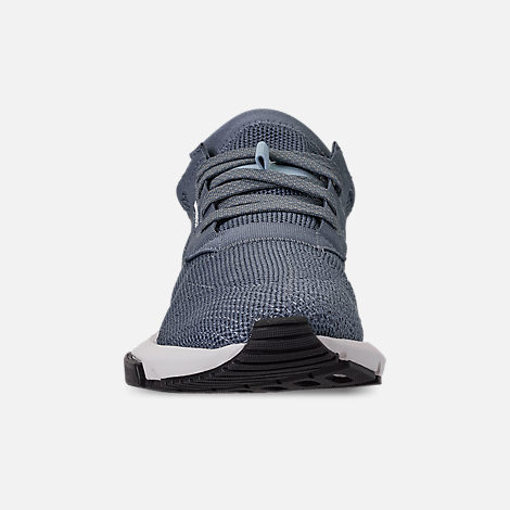 Front view of Boys' Big Kids' adidas Originals POD-S3.1 Casual Shoes in Raw Steel/Raw Steel/Reflect