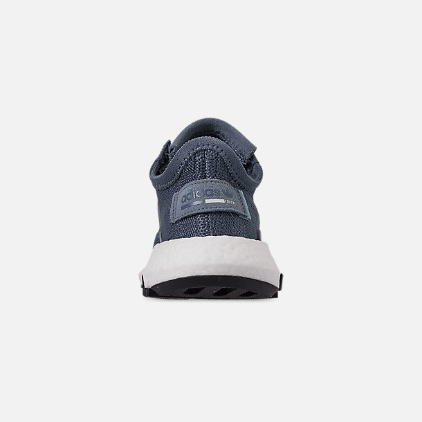 Back view of Boys' Big Kids' adidas Originals POD-S3.1 Casual Shoes in Raw Steel/Raw Steel/Reflect