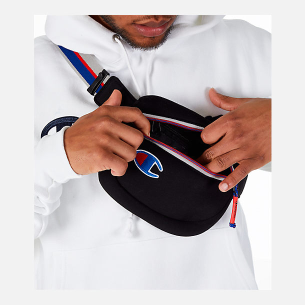 Alternate view of Champion Attribute Waist Pack in Black/Royal/Red