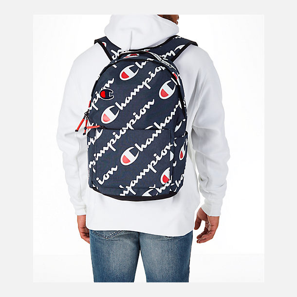 Alternate view of Champion Advocate Logo Backpack in Navy