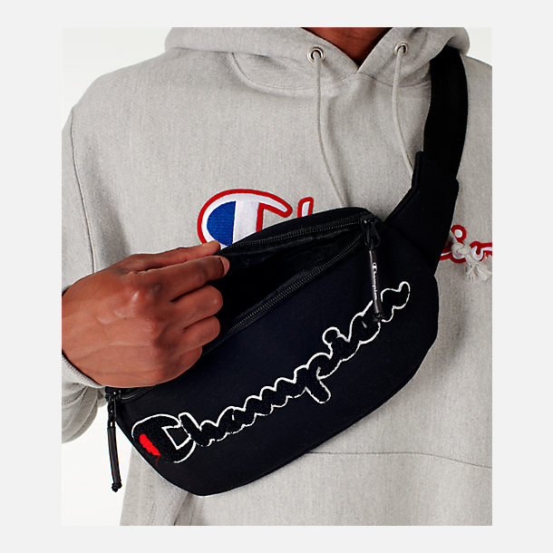 Alternate view of Champion Prime Script Waist Pack in Black