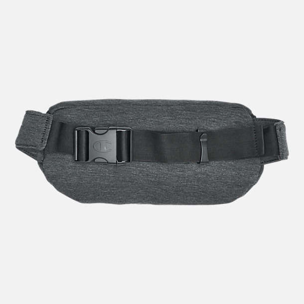 Back view of Champion Prime Script Waist Pack in Dark Grey