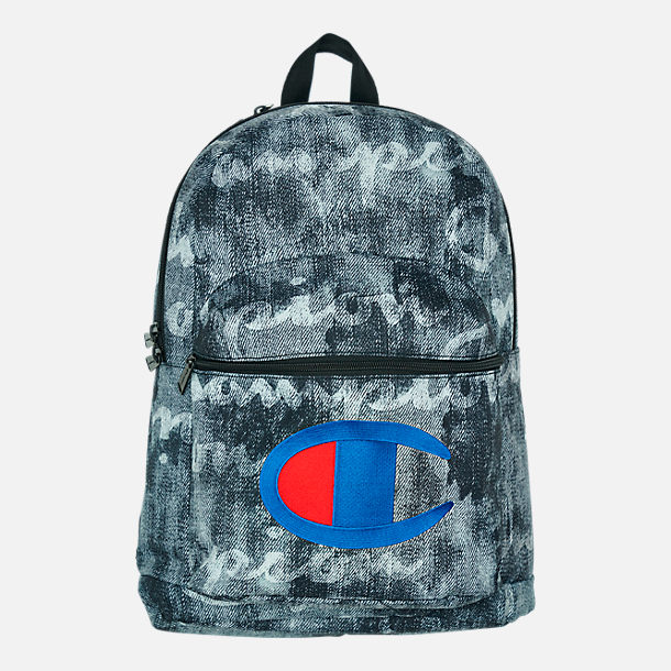 Front view of Champion Supercize 2.0 Backpack in Black Combo