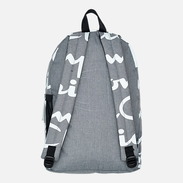Back view of Champion Supercize 2.0 Backpack in Grey/White Allover Print