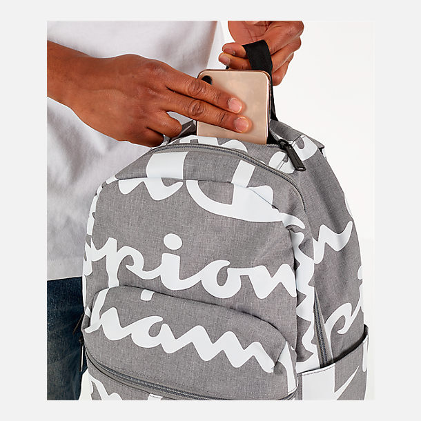 Alternate view of Champion Supercize 2.0 Backpack in Grey/White Allover Print